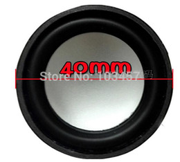 Wholesale Free shippping inch full range speakers ohms W Core Bass Enhanced Diameter mm speakers cone pair