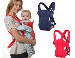 Wholesale Baby Carriers Months Breathable Multifunctional Front Facing Baby Carrier Infant Comfortable Sling Backpack Newborn Pouch Wrap