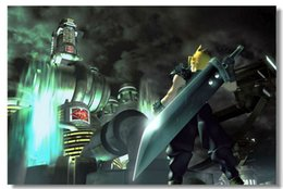 Wholesale FF7 Final Fantasy VII Advent Game Classic Fashion Movie Style Custom Poster Print Size x60 cm Wall Sticker