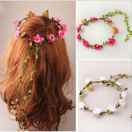Wholesale Fast shipping Bridal Headpiece plum blossom garland bride hair flower multicolor in stock new fashion Hair Accessories