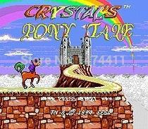 Wholesale Brand New Bit Game Cartridge Classic Game Card for Sega Mega Drive Genesis Crystals Pony Tale