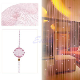 Wholesale String Curtain Panel Spangle Fringe Room Door Beads Window Divider Panel Blind order lt no track