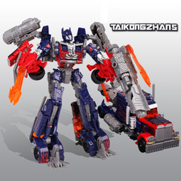 Wholesale Toys Hobbies Transformation Optimus Prime Bumblebee Robots Action Figures Deformation Robot Brinquedos Toy For Kids Gift