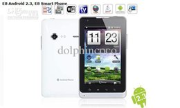 Wholesale 5 inch Capacitive MTK6573 Tablet PC Smart Phone E8 Android WIFI GPS G Cell Phones