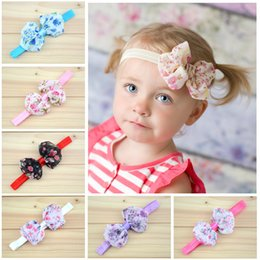 Baby headbands bows chiffon flower Headbands for girls baby girls Floral bows hair bands kids classic tiara Princess headband Christmas gift
