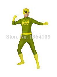 Iron Fist Marvel X-men Superhero Halloween Party Cosplay ZenTai suit