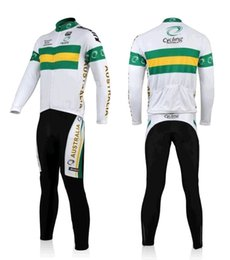 Wholesale For Autumn Sports Australia Cycling Long Sleeve Jersey Bike Clothing And Pants Cycling Suits For Man BM003