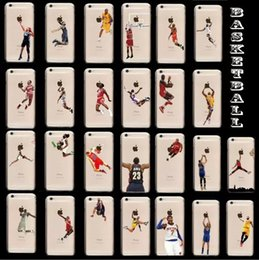 Wholesale Basketball Shooting Player Team Hard Plastic PC Case For Iphone Plus inch G G G C skin cover Case