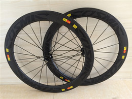 Wholesale High Pro carbon wheels mm deep for racing bike mm wide aero u shape carbon wheels with basalt braking surface C tubeless