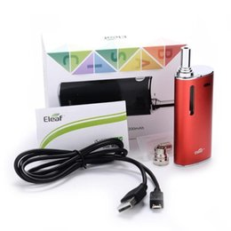 Wholesale Authorized Istick Basic Kit Istick Basic mah Starter Kit Istick Basic Black Silver Red Blue Grey Pink Color Available