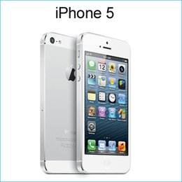 Wholesale Iphone refurbished iphone cell phone IOS GB GB G G Dual core phone i5 with retail box