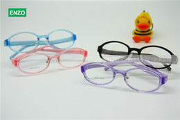 Flexible Kids Eyeglasses Size 48mm Silicone TR90, Boys Girls Glasses Switchable Temples, Optical Children Glasses