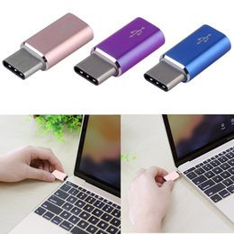 High Quality USB 3.1 Type-C Male to Micro USB Female Converter Micro USB Connector USB-C Adapter Type hot new