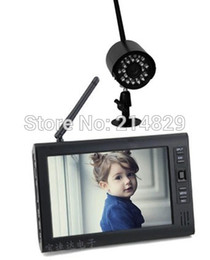 Wholesale 2 Ghz Channel Wireless LCD Kit Camera Receiver Security System for Baby and Old Parents Care