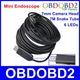 Wholesale Waterproof Borescope USB Inspection Camera Endoscope M Snake Tube Investigate Hard To Reach Area Diagnose Machine Equipment