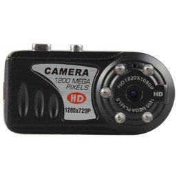 Wholesale Best Quality Mini DV Camcorder P Q5 Video Resolution Infrared Night Vision Camcorder Digital Video Recorder A0096