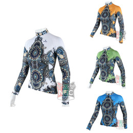 Classic Lady 4 colors Women's Long Sleeve Cycling Jersey Quick Dry Cycling clothing Plus Size maillot ciclo jersey Bike outfit
