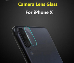 For iphone XR XS MAX X 7 8 Tempered Glass Camera Lens Protector Back Film Rear Protective Sticker Phone Cover