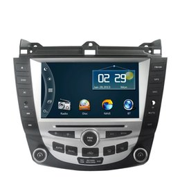 Wholesale 8 Inch Car DVD Player GPS Navigation System for Honda Accord Dual zone Climate Control Radio Bluetooth