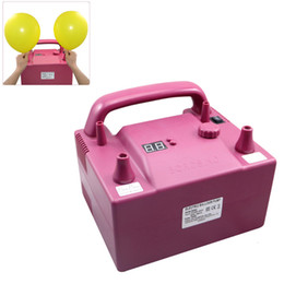 Wholesale 680W B362P Timing Quantitative Multifunctional party Electric Balloon Pump with Inflation Nozzles HOA_510