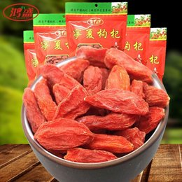 Wholesale 100g Super Dried Goji berries Bulk Organic Wolfberry Gouqi Berry Herbal Tea China goji berry For Weight Loss eyesight removal anger