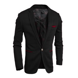 high quality Spring and Autumn 2016 new high quality men's casual one button suit 4307