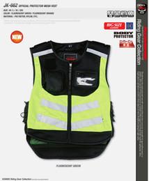 New Motorcycle Night reflective vest, safety vest, Ko mine JK-662 Official Protector Mesh Vest