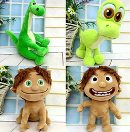 PrettyBaby the good dinosaur 2015 plush movie toys Green dinosaur plush toy Spot Dinosaur Arlo Plush Doll Stuffed Toy 20CM free shipping