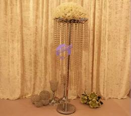 wedding centerpiece artificial flower ,tall acrylic flower stand centerpiece