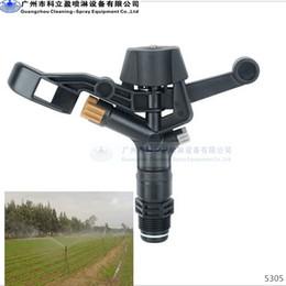 Wholesale 3 quot plastic impact agriculture water sprinkler head Max irrigation radius m