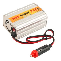 Wholesale Selling Laptop Chargers - 200W 12V DC to 110V AC Auto Car Power Inverter Adapter Supply Converter Charger for Laptop Computer hot selling