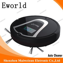 Wholesale Eworld M884 Intelligent household robot vacuum cleaner for floor with scheduling function dry robot vacuum cleaner with recharger