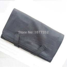 Professional Women Travel Cosmetic Bag Brand Leather Makeup Bag for 12pcs Makeup Brushes bag toy bag manicure