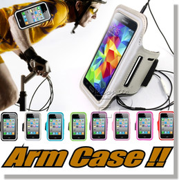 Wholesale For iPhone plus Arm case Armband cases for iPhone s Workout Sports Armband Running Gym Case For Samsung Note S7 S7 Edge S6 edge cases