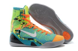 Wholesale Nike KOBE IX ELITE perspective Men s hi top basketball trainers sneakers shoes