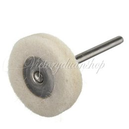 Wholesale Mounted Buffing Wheel Watch Glass Stone Cleaning Tool Polishing Mop Cotton Buff Repair Parts