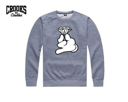0885 free shipping men Hoodies new style Crooks Castles hip hop clothes pullover fashion clothing brand new Sweatshirts