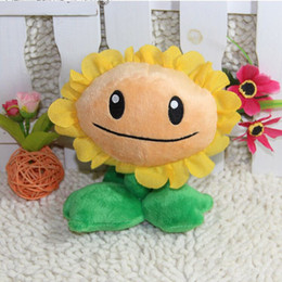 FG1511 3 Styles Plants vs Zombies Plush Toys 14-16cm Plants vs Zombies Soft Stuffed Plush Toys Doll Baby Toy for Kids Gifts Party Toys