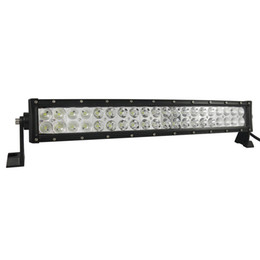 20inch 120w led curved light bar Offroad LED Work Light Bar for Driving Tractor Boat Truck SUV ATV with 12v 24v