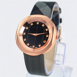 2017 Hot Sale Fashion lady watches women man leather watch Steel Bracelet Wristwatches Brand female clock with box free shipping