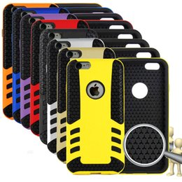 Wholesale Rocket Rubber Defender shockproof case cover for Iphone inch plus soft TPU Hard PC cases Samsung galaxy S5 i9600 S6 G920 Note