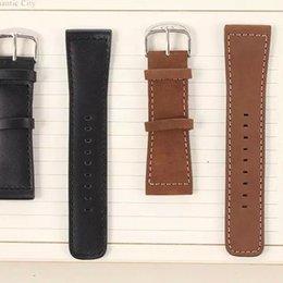 Promotion bracelet en cuir véritable Chicago cuir véritable Apple Suivre Watchband iwatch remplacement sangles Boucle pour i regarde Wrist Band 38mm 42mm Classic Edition avec le paquet