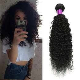 Brazilian Curly Virgin Hair, 3 Bundles Brazilian Curly Hair Weave Bundles Curly Human Hair Natural Color Brazilian Kinky Weaves