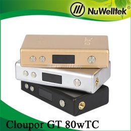 Acheter en ligne Cloupor gt-Cloupor GT TC 80W boîte mod Compact Cloupor GT 80W TC mod Authentique Cloupor GT 80W mod TC Cloupor GT 80W mod