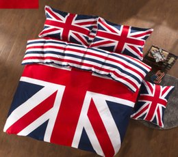 Wholesale-EMS UPS FedEx TNT Flag design home bedding sets household coverlet pillow case bedclothes