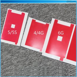 Wholesale For Iphone s s c plus Backlight Protector Film Red Sticker Paper LCD Sreen Display Back Light Adhesive Sticker Refurbishment