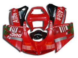 Injection Fairings for Ducati 996 748 998 1996-2002 748 996 998 1996 1997 1998 1999 2000 2001 2002 Bodywork ABS Plastic Red Black