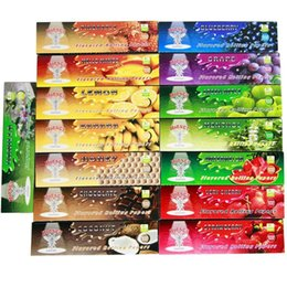 Wholesale 5 X Booklets MM or MM HORNET Fruity Juicy Flavored Rolling Papers Smoking Cigarette Rolling Paper Tobacco kng Size