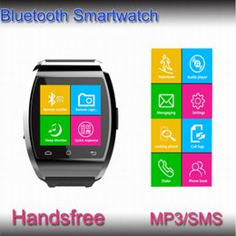 Wholesale Bluetooth Smart Watch U10 pro U Watch WristWatch for iPhone S S Samsung S5 S4 Note HTC Android Phone Smartphones factory price