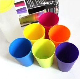 Wholesale Pieces Plastic Drinking Cups tumblers Water Coffee Milk Tea Drinkware Kitchen Dining Bar Supplies Accessories Products